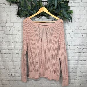 American Eagle Light Pink Sweater